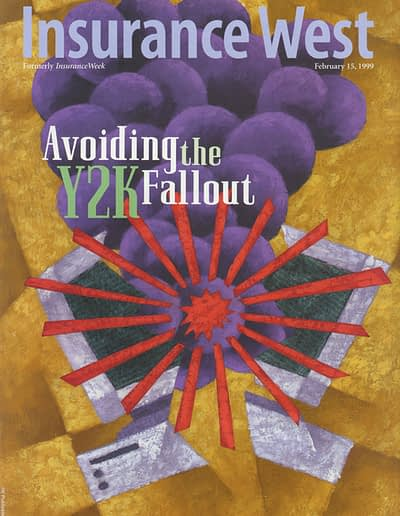 InsuranceWest cover - Y2K
