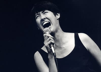 Michelle Shocked singing