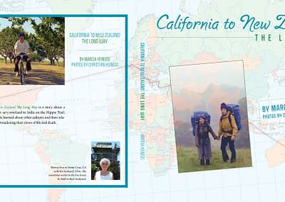 California to New Zealand bookcover