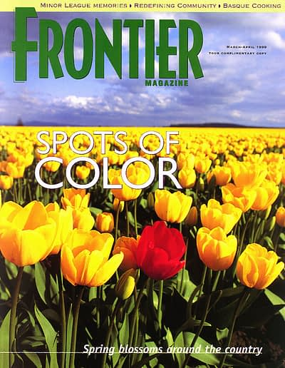 Frontier Magazine tulips cover