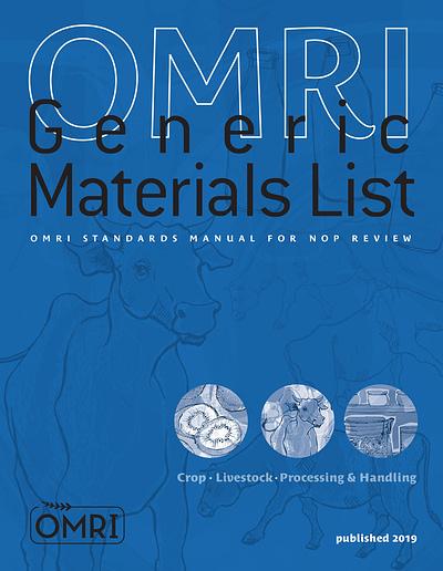 Book OMRI manual blue Cover