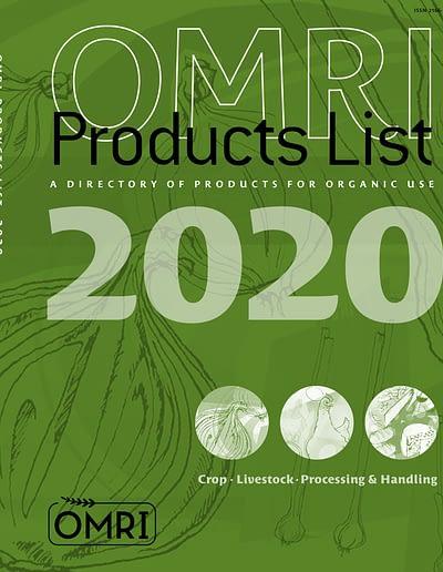 Book OMRI manual green Cover