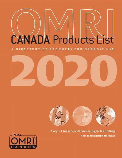 Book OMRI manual orange Cover