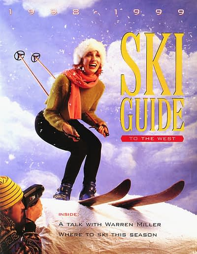 Frontier Magazine cover -Ski Guide